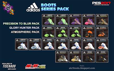 PES 2017 Bootpack Adidas Series 2020/21 by AK-RF Mods