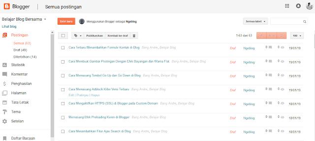 Cara Membuat Contact Form (Contact Us) Keren di Blogspot - Menu Tata Letak di Blogger
