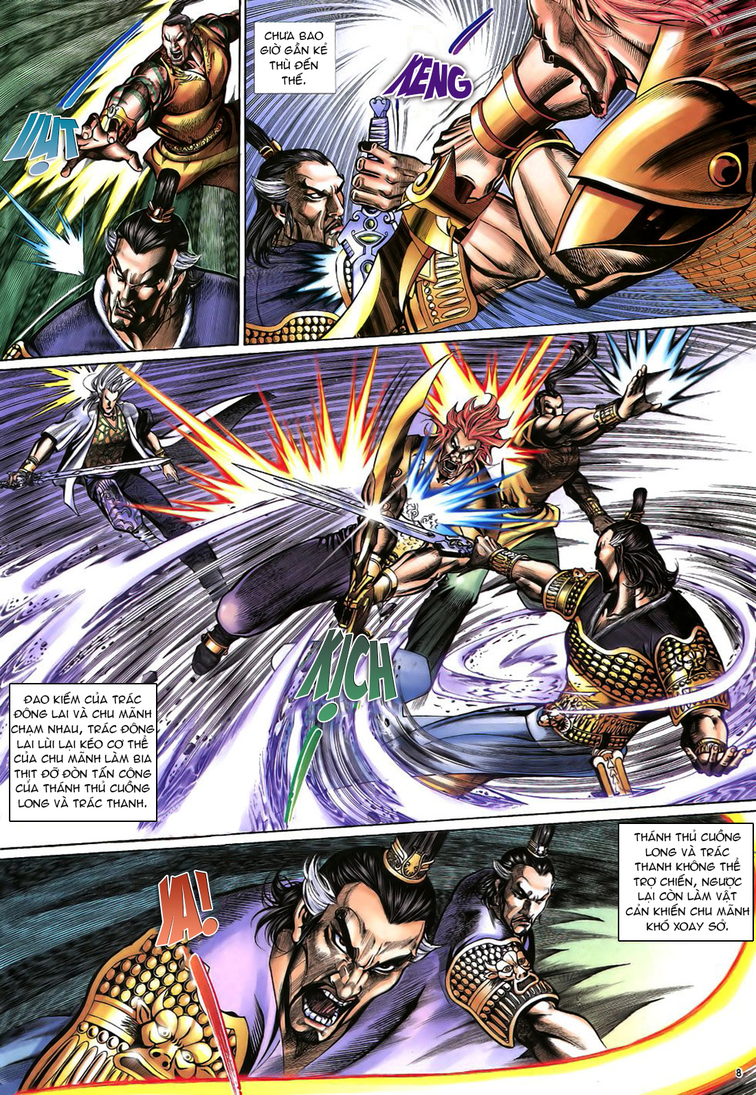 Anh hùng vô lệ Chap 22 trang 9