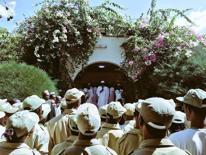 Tell your brothers to forget Biafra, Buhari tells Igbo corps members