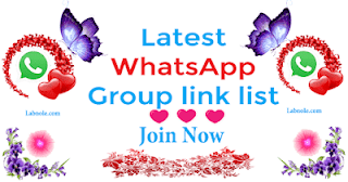 WhatsApp group link list image