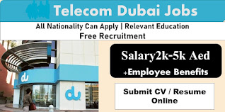 Jobs Requirement For Electrical & Mechanical Technicians in Telecom Company  Dubai, UAE | Apply Online