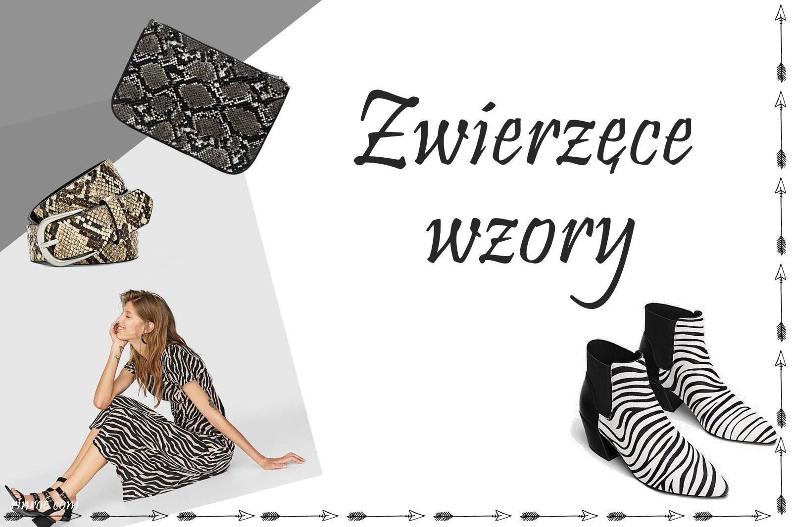 jak nosić zwierzęce wzory, z czym łączyć zwierzęce wzory, zwierzęce wzory na ubraniach, ubrani w cętki, sukienka w cętki, płaszcz w cętki, buty  cętki, w cętki, w panterkę, panterka, zebra, w zebrę, wężowy top, wężowy wzór, wężowa sukienka, inditex, stradivarius, zara, bershka, animal print, trendy, trendy jesień zima, jesień 2018, zima 2018, co modnego na zimę 2018