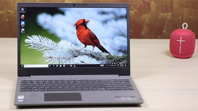 Lenovo IdeaPad S145 81MV00WRIN laptop. This lightweight IdeaPad comes with mostly disappointing specs and comes under a low-budget.