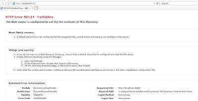 BC Server Error