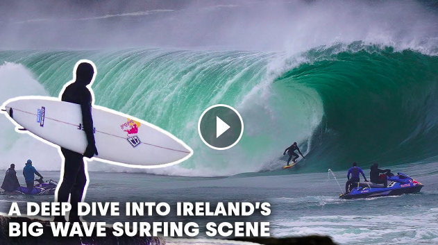 These Are The Burly Souls Who Brave Ireland s Biggest Waves