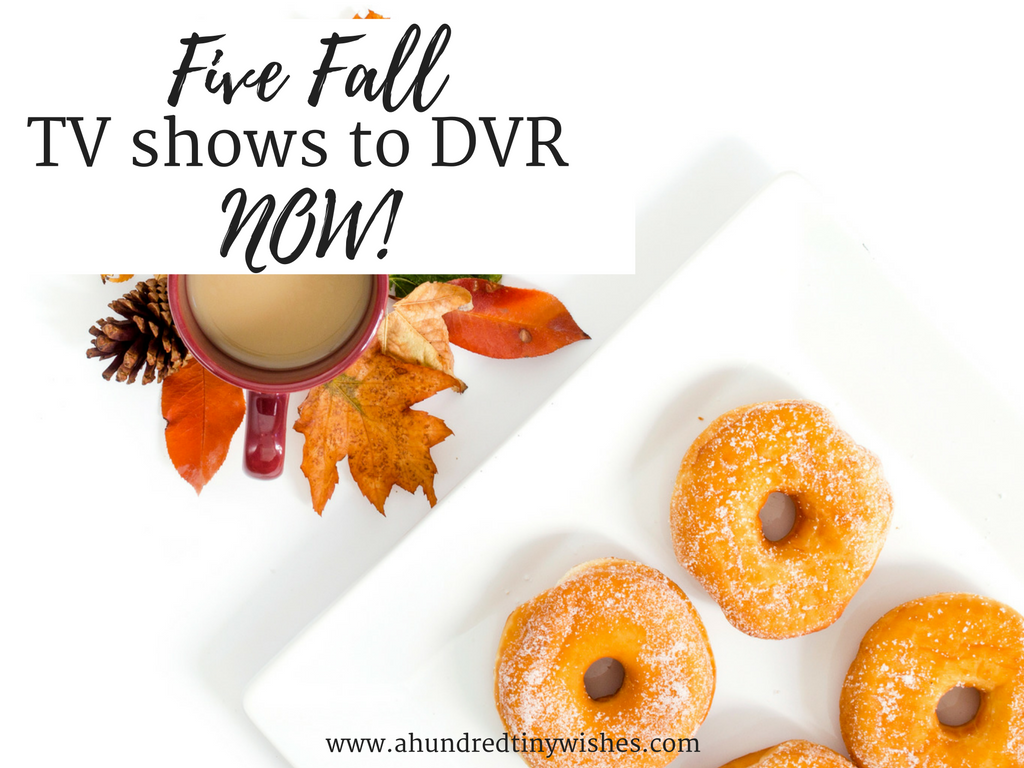 five Fall TV shows to DVR now