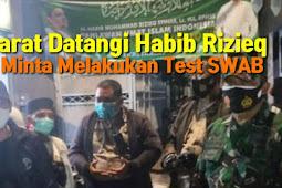 Aparat Datangi Habib Rizieq Minta Melakukan Test Swab