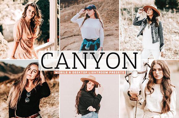 Canyon Pro Lightroom Presets(Mobile/Desktop)