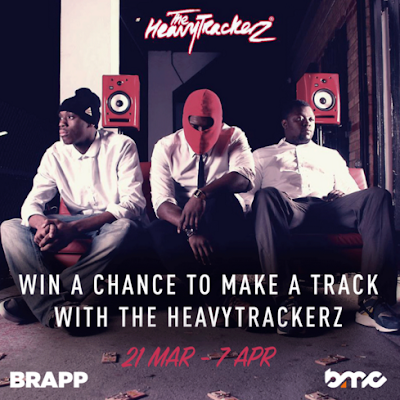 WIN A CHANCE TO MAKE TRACKS W/ HEAVYTRACKERZ, SASKILLA & MORE W/ BRAPP