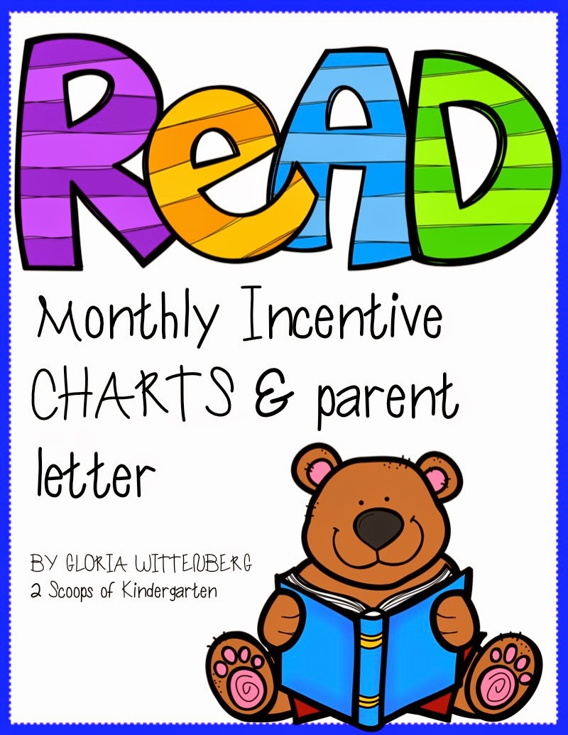 http://www.teacherspayteachers.com/Product/Monthly-Reading-Incentives-with-Parent-Letter-1324400