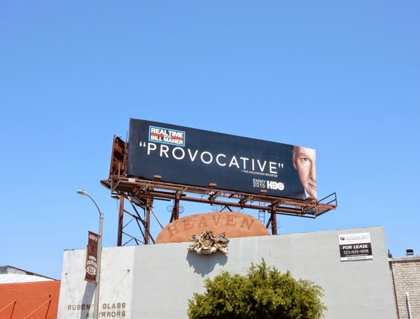 Bill Maher Emmy 2015 billboard