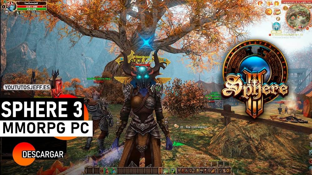 Como Descargar SPHERE 3 GRATIS, MMORPG PARA PC