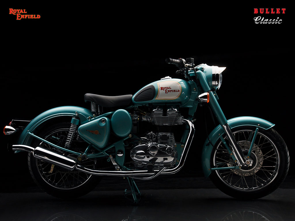 Royal Enfield Classic 500 Green Color Official Images Royal