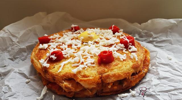 Empanada de pan de molde sin horno