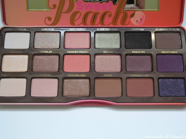 palette Sweet peach - Too Faced