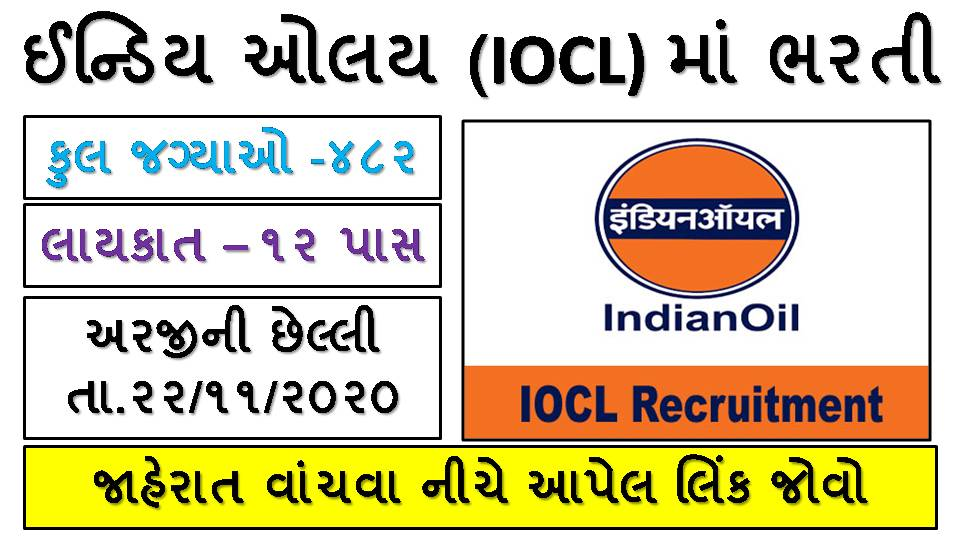 Indian Oil Corporation Limited (IOCL) Apprentice Recruitment 2020