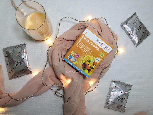 Cantik dan Sihat Bersama Kitsui Vitamin C + Shine
