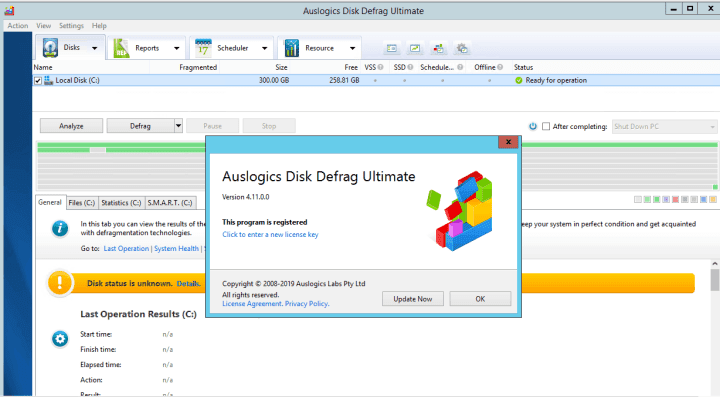 Auslogics Disk Defrag Ultimate 4.11.0.6 With Crack Download [Latest]