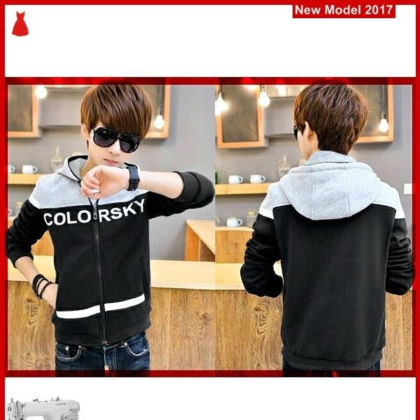 MSF0012 Model Jaket Hoodie Murah Color Sky BMG