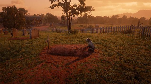 الحيوانات في عالم لعبة Red Dead Redemption 2 نتفاعل يشكل واقعي لدرجة لا توصف ، إليكم هذا المشهد الرائع