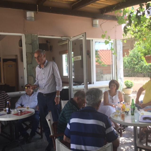 Γιάννης Γκιόλας: Από το Ηλιόκαστρο Ερμιονίδας στην Καρυά του Άργους σε ανοιχτό δημοκρατικό διάλογο