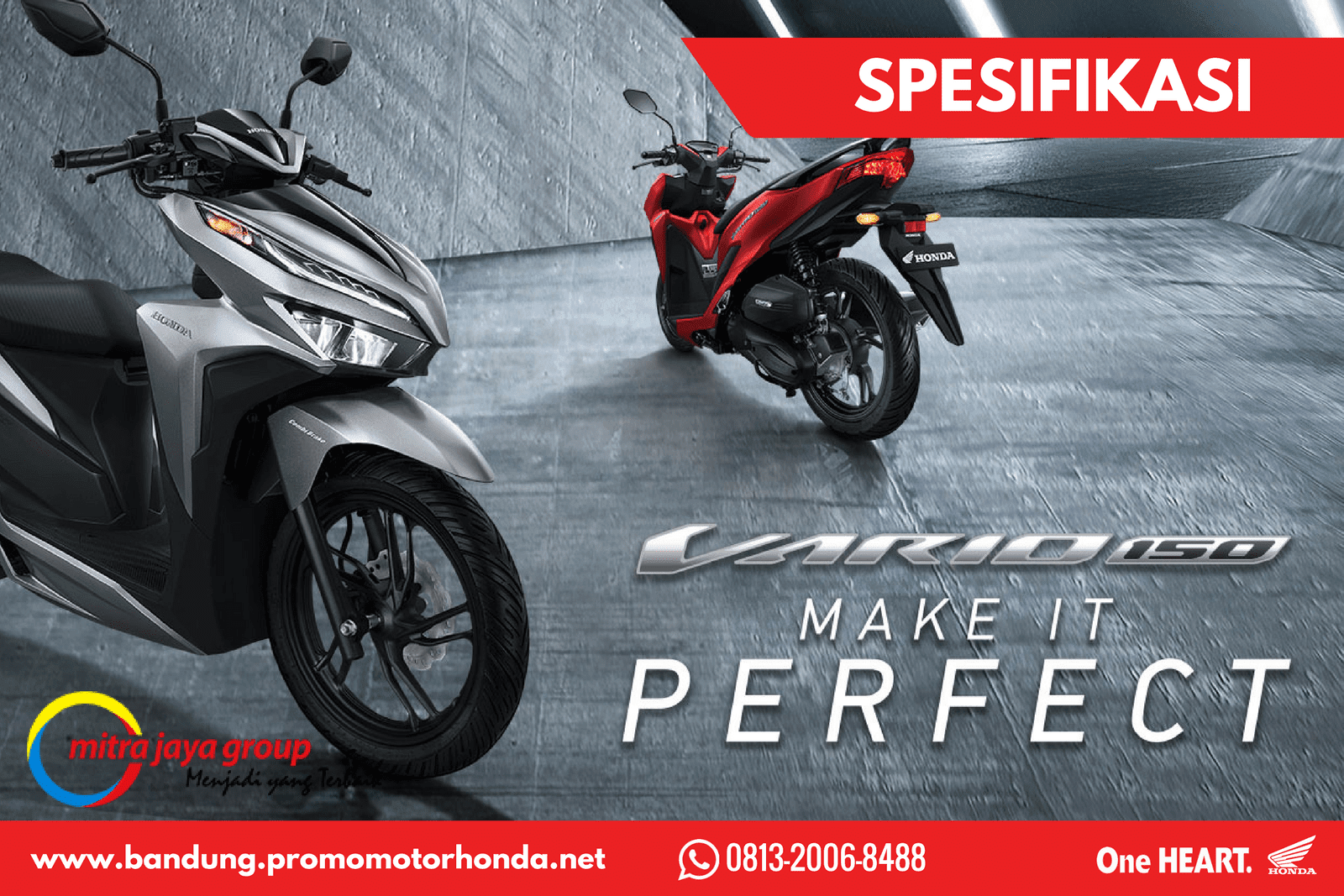 Spesifikasi All New Honda Vario 150 Tahun 2018 Facelift