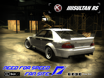 DOWNLOADS ETERNOS™: Karin Sultan RS - NFSMW