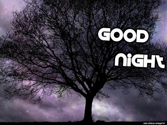 Good night images tree