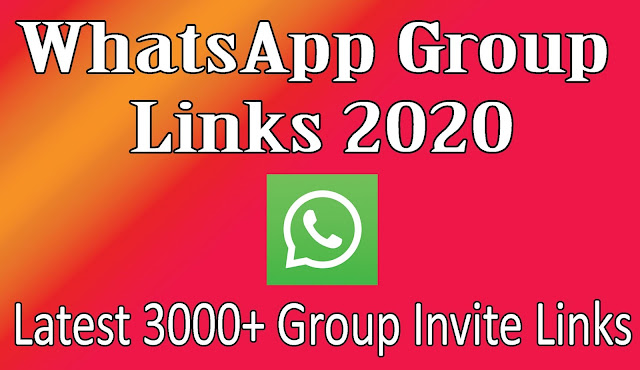 WhatsApp Group Links 2020