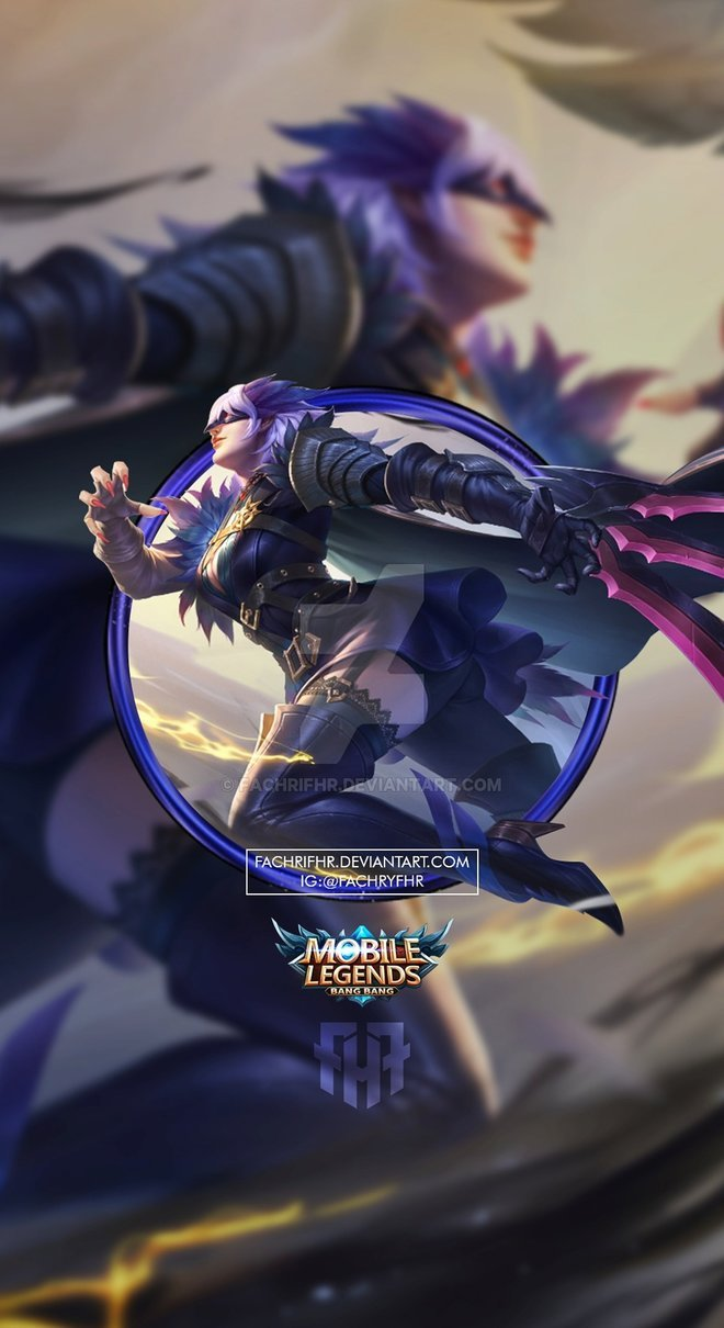 Wallpaper Natalia Midnight Raven by: fachrifhr HD for Android and iOS