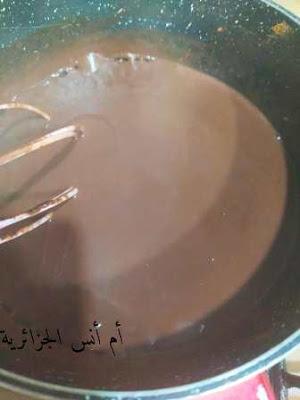 تحلية الشوكولا