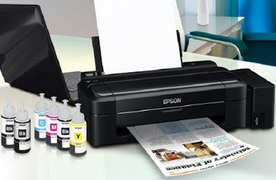Driver Printer Epson L310 Untuk Windows 7, 8, 8.1 & 10 (32bit/64bit)