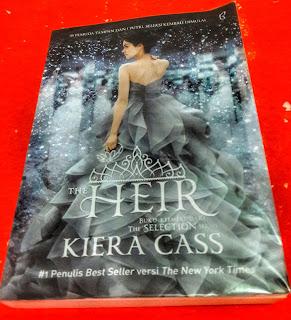 Review Novel The Heir, Review Novel Kiera Cass, Novel The Selection Series