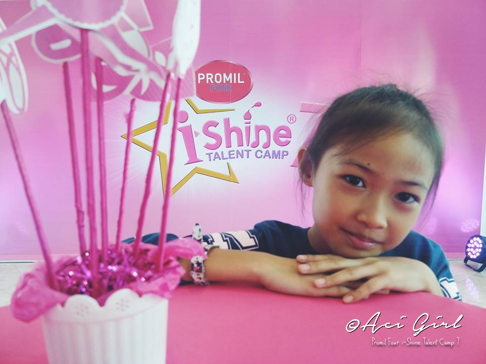 Promil Four iShine Talent Camp 7 - Ricci Marcheline wants to be a Ballerina someday.