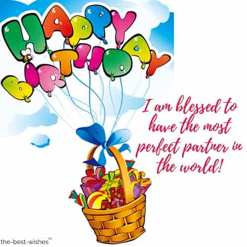 birthday images for perfect partner