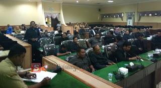 3 Pimpinan DPRD Tak Hadir dalam rapat Paripurna