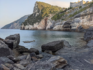 Grotta Byron Porto Venere - early morning - no swimmers