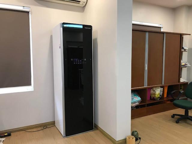 Hướng dẫn lắp đặt máy giặt hấp sấy LG Styler an toàn