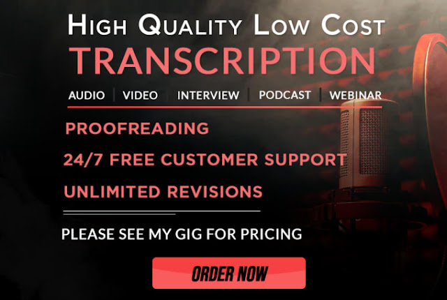 Flawless audio or video transcription in 24 hours - transcription and translation