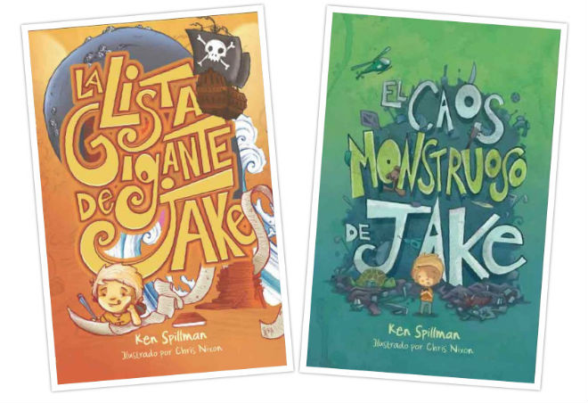 colección jake, portada cuentos, libros infantiles