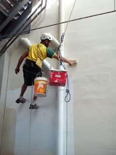 Trabajos verticales: mantenimiento de comunidades en Zaragoza
