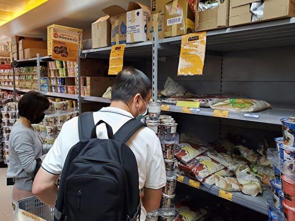 Trung Quốc: Nhiều tỉnh xuất hiện tranh nhau tích trữ lương thực