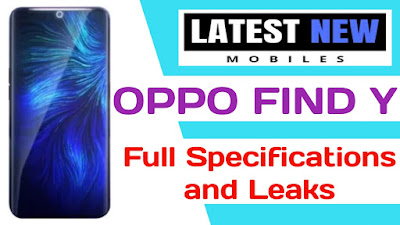 OPPO Find Y full Specifications