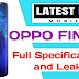 OPPO Find Y full Specifications, Price and Launch Date in India