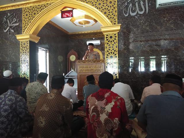 Menjaga Kamtibmas di Wilayahnya, Personel Polsek Ganra Rutin Kunjungi Masyarakat