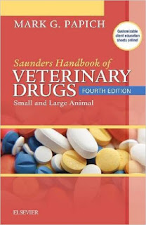 Saunders Handbook of Veterinary Drugs, Small and Large Animal 4th Edition