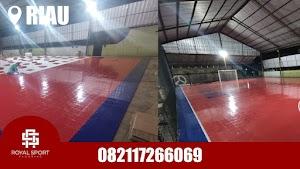 Jual Lantai Interlock Futsal di Riau Original