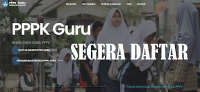 ANDA SEORANG GURU! Berikut Link Pendaftaran PPPK Guru Tahun 2021