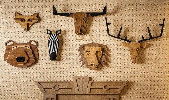 أفكار ونماذج ديكورات خشب للجدران